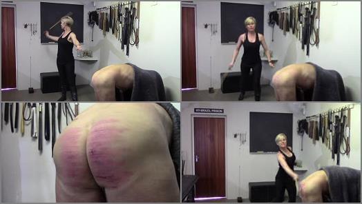 Strafkamer  MISTRESS BATON Prison Caning II  Hard Corporal punishment preview