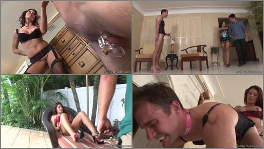 Ass Fucking - Subby Hubby – Pool Boy Cuck MiniMovie -  Leena Sky