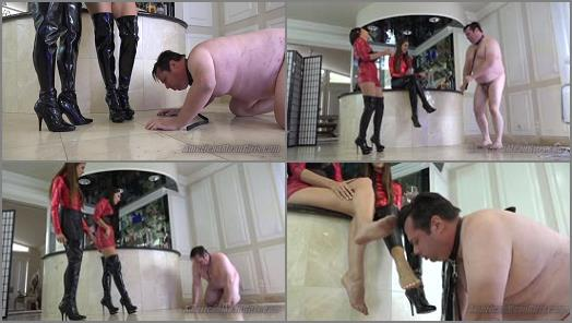 Humiliation - THE MEAN GIRLS – Humiliating The Alcoholic -  Princess Bella and Princess Beverly