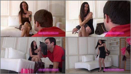 Slave - THE MEAN GIRLS – Shopping Cuck -  Goddess Randi