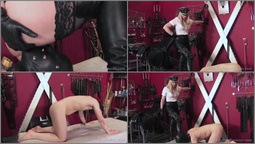 Theenglishmansion - The English Mansion – Her Chained Fuck Meat – Part 4 -  Mistress Sidonia