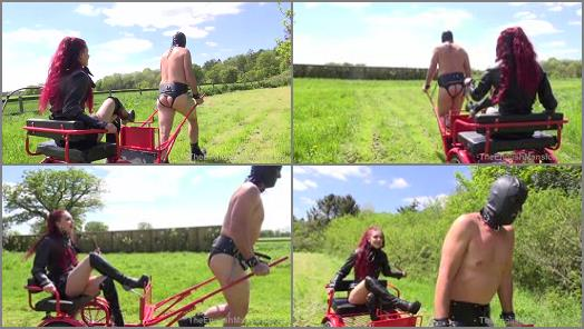 Theenglishmansion – The English Mansion – Ridden and Whipped – Part 1 –  Mistress Regina and Mistress Sidonia