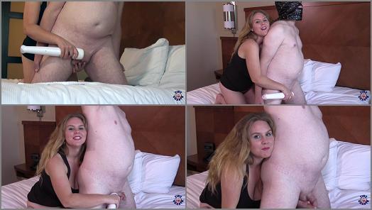 Handjob –  Tiny Chaste – Chastity Training – Reach Around Cock Tease