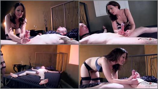 VICIOUS FEMDOM EMPIRE  Ball Busting Fuck   Mistress Sarah preview