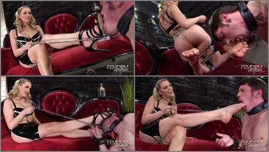 VICIOUS FEMDOM EMPIRE  Foot Discipline   Princess Mia preview