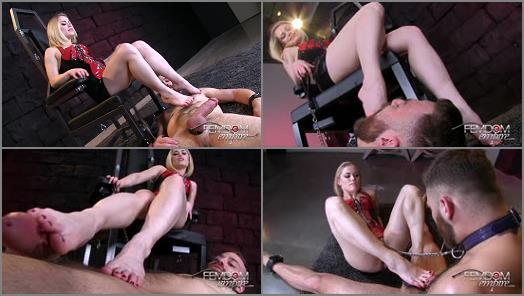 VICIOUS FEMDOM EMPIRE  Size 5 Cock Tease   Mistress Ash preview