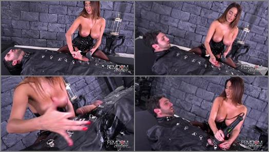 VICIOUS FEMDOM EMPIRE  Vibrator Penis Milking   Anissa Kate preview
