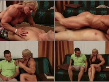 Sub Hold - Athena2 – FBB Mixed Wrestling – The Cleaning Man -  Maryse Manios