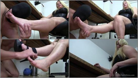 Club Stiletto FemDom  FemCorp Office Foot Bitch   Princess Skylar  preview