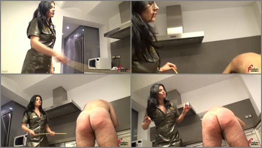 Femdom Insider MP4  Severe Military Caning   Mistress Soraya  preview