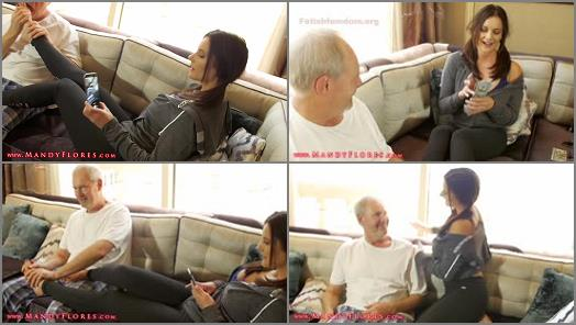 Mandy Flores  Grandpas Foot Fetish Blackmail HD Mandy Flores Financial Domination  preview