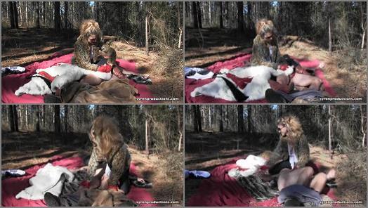 Mistress Aleanas Queendom  CBT Fur Picnic  preview