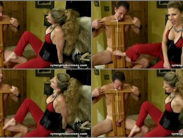 Foot Domination - Mistress Aleana's Queendom – Punished In The CBT Chair Part 3