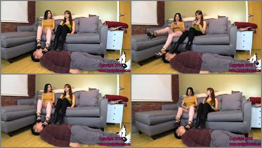 Brat Princess 2  Alexa and Natalya  Ignored Boot Worship leads to Foot Worship Servitude Part 1 preview