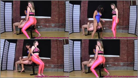 Brat Princess 2  ChiChi and Kendall  Advanced Scissoring Techniques Part 2 preview
