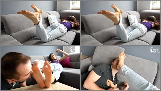 Czech Soles  Hangover sexy BIG feet and crazy foot worship  preview