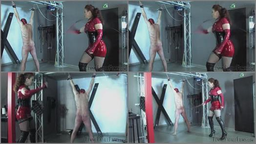 FemmeFataleFilms  Red Whipping  Part 2   Mistress Lady Renee  preview