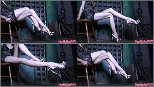 Humiliation POV  Focus On My Legs And Feel Your Loser Brain Go Mushy And Dumb  preview
