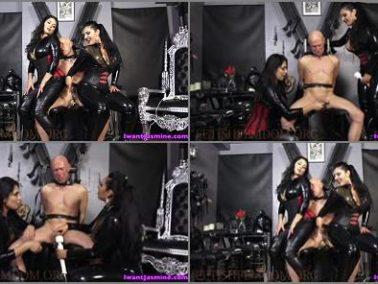 Small Penis Humiliation -  Jasmine Mendez LatinAss Locas – 125 days of CHASTITY -  Mistress Ezada and Jasmine Mendez