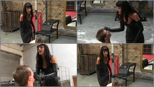 SADO LADIES Femdom Clips  Echoing Slaps   Mistress Kassi  preview