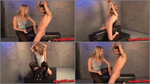 She Owns Your Manhood  Sexy Ball Squeezing HJ with Cadence  preview