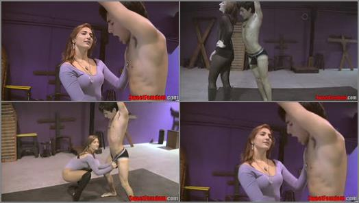 Sweet Femdom   Amadahy Kissing Castration   Amadahy  preview