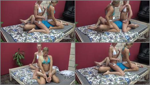 Antschas wrestling and fetish store  Doublepin mixed 2 girls on a guy  Part 2  preview