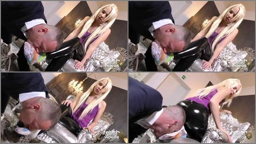 FEMDOMGOLD Video Store  Lick and Suck my Socks Loser Miss Serena 10  preview