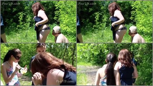 MilanaSmelly  4 Girls playing with their slave  preview