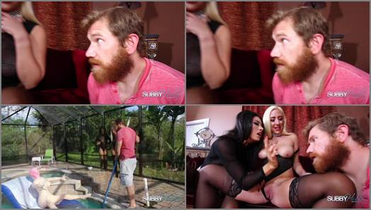 Subby Hubby  Human BlowUp Doll Part 1  Pussy Tease   Goddess Tangent and Sunny Chase  preview