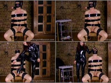 Catsuit -  The English Mansion – Goddess Lillith's Nipple Slave – HD Part 1 -  Goddess Lillith