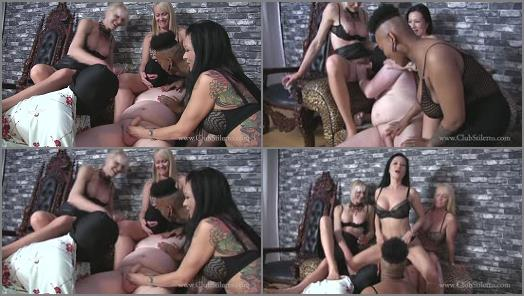 Club Stiletto FemDom  Hard For Trans Cock   Kandy Miss Jasmine Koi Erotica and TS Goddess Ms Staci  preview