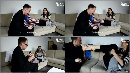 Czech Soles  Teacherstudent foot worship session  preview
