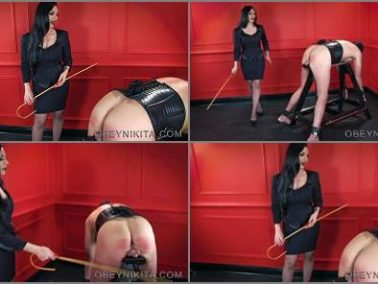 Bondage - Mistress Nikita FemDom Videos – Obey Nikita – Caned For My Pleasure