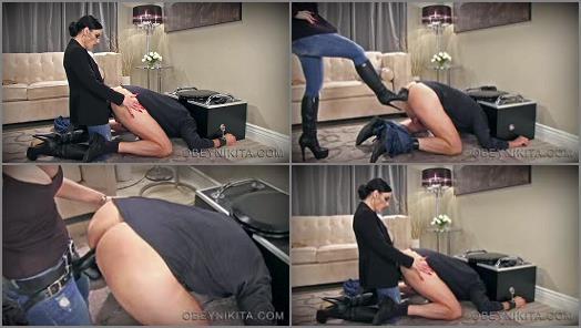 Mistress Nikita FemDom Videos  Obey Nikita  Fucked Then Fed  preview