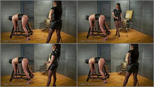 Mistress Nikita FemDom Videos  Obey Nikita  Nine Tail Punishment  preview