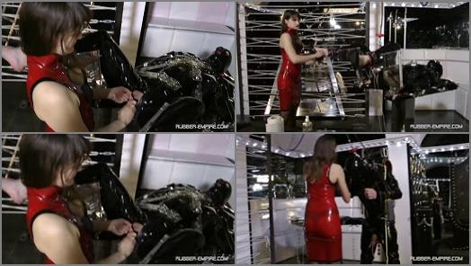 Femdom and StrapOn Clips  Rubbertoy in Troubel   Lady Lilith  preview