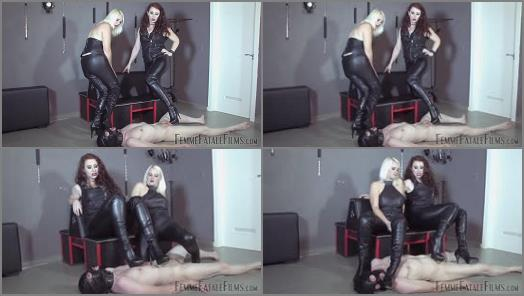 FemmeFataleFilms  Brutal Boots  Complete Film   Mistress Heather and Mistress Lady Renee  preview