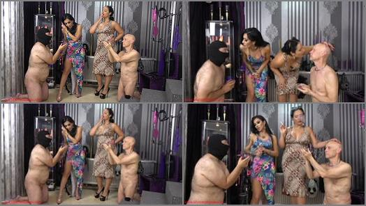 Mistress Ezada Sinn  Human ashtray or human toilet   Mistress Kennya  preview