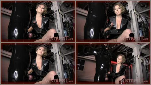 Mistress  T  Fetish Fuckery  New Rubber Slave Tested  preview
