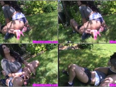 Female Domination -  The Laughing Latina – First Aid FaceSitting -  Jasmine Mendez