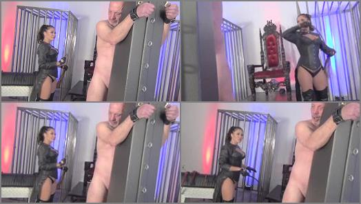Asian Cruelty  A MUCH DESERVED PUNISHMENT FOR AN UNDESERVING SLAVE   Goddess Mena  preview