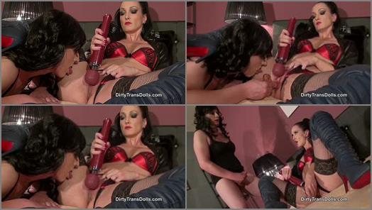 Dirty Trans Dolls  Teasing My tranny slut part 2   Fetish Liza  preview