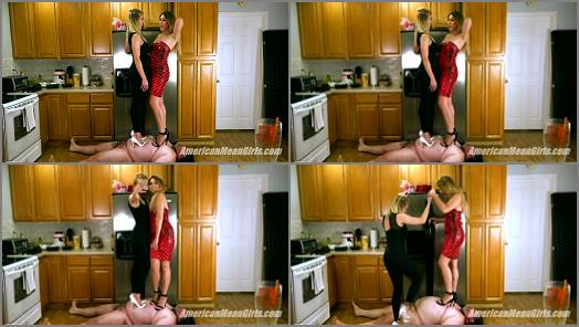 THE MEAN GIRLS  The Art of Good Trampling   Princess Skylar and Princess Amber  preview