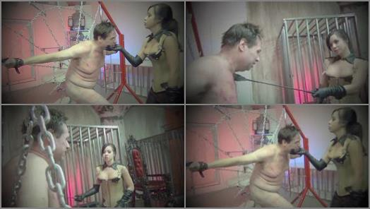 Asian Cruelty  SAVAGELY WHIPPED TO OBEDIENCE   Empress Kimmy Lee  preview