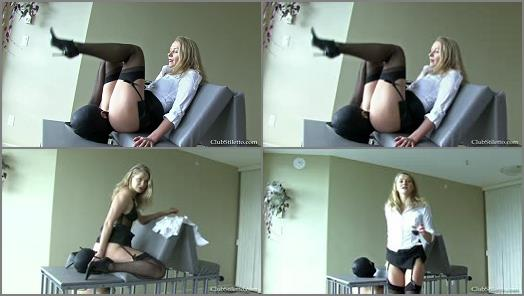 Club Stiletto FemDom  Human Toilet Paper Duties   Mistress Yuliya  preview