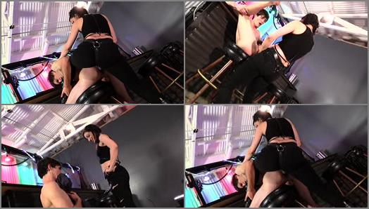 Cybill Troy FemDom AntiSex League  StrapOn Degradation Bartender Forced into Slavery PART 2  preview