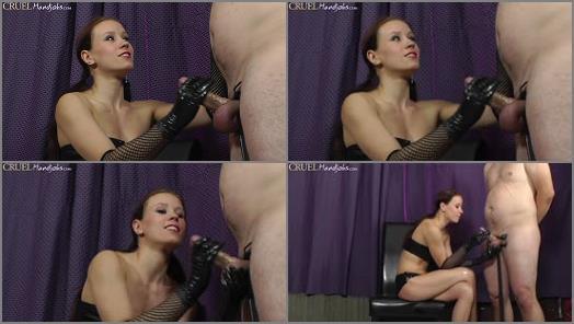 HANDJOBS MISTRESS  Teasing til he cums   Mistress Anette  preview