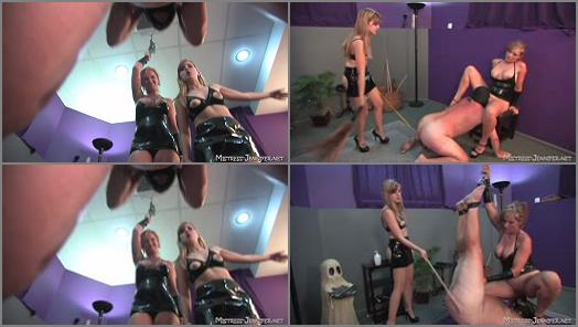 Lakeview Entertainment  Beat Those Balls Blue   Mistress Savannah and Mistress Missy  preview