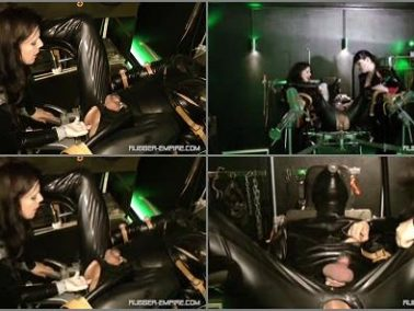Cock Locked -  RUBBER-EMPIRE  – Das Gummi Benutzungs Objekt – Chapter One  -  Lady Isis and Sklave